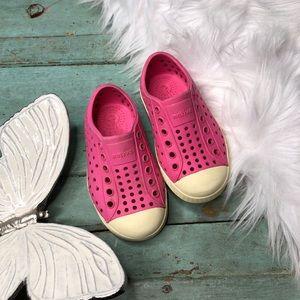 Native Shoes Jefferson Girls Size 7 Pink Sneaker